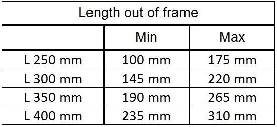 length darimo carbon seatpost